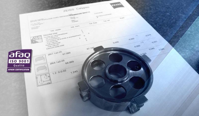 certification de contrôle LF MECA 3D ZEISS