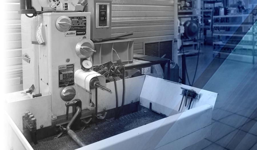 Rodage cylindrique LF MECA machine rodeuse cylindrique mécanique de précision