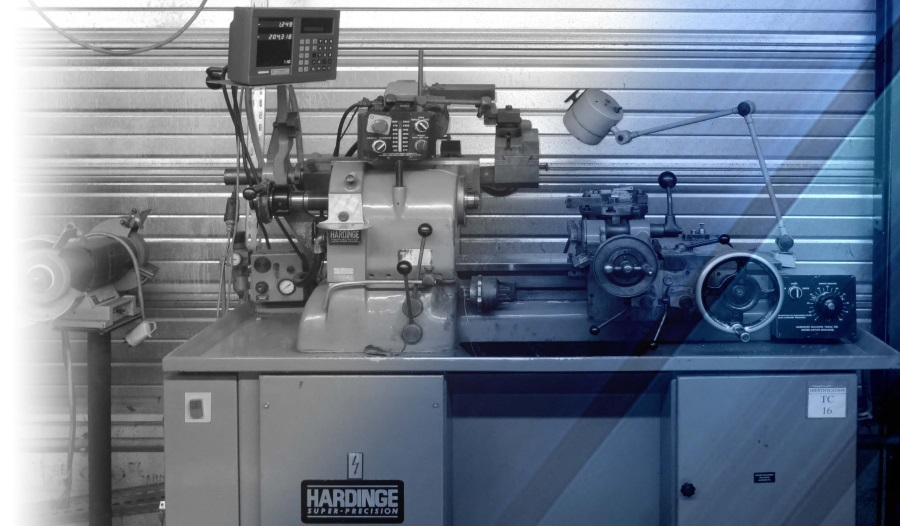 Tour HARDING parc machine mécanique de précision LF MECA