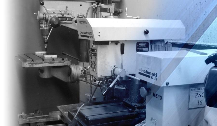 Perceuse taraudeuse du parc machine LF MECA Mécanique de précision