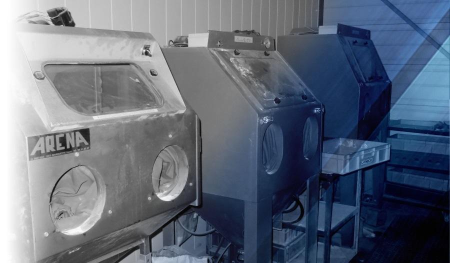 Machines sablage et micro billage LF MECA mécanique de précision